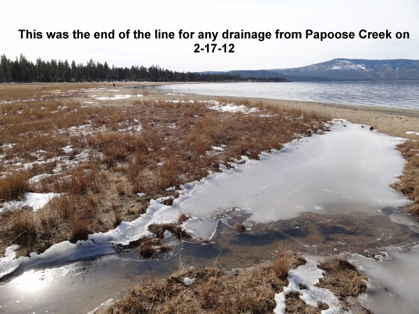 End of the line for Papoose Creek 2-17-12