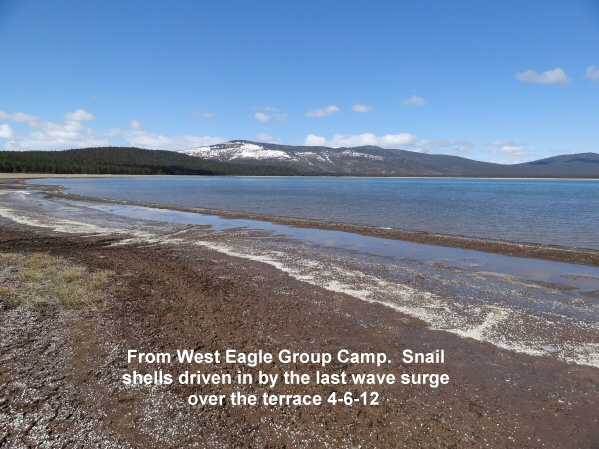 From West Eagle Group Camp area 4-6-12