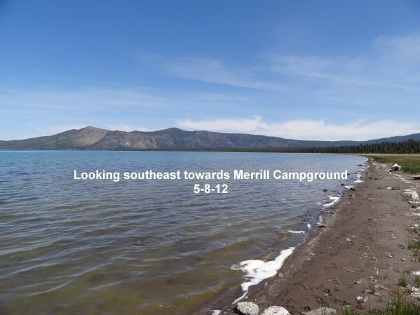 Looking towards Merrill Beach 5-8-12