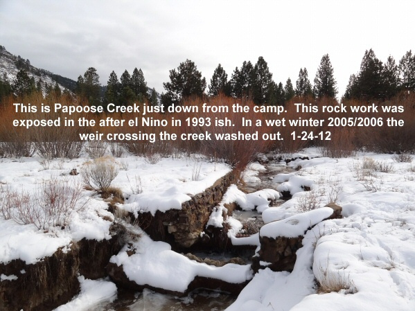 Papoose Creek 1-24-12