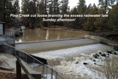 Pine Creek cuts loose 12-2-12