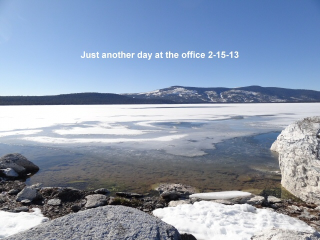 Just another day at the office 2-15-13