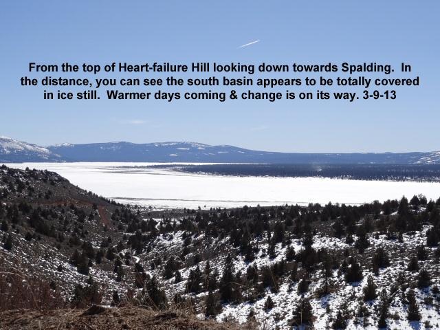 Looking across the northwest basin of Eagle Lake 3-9-13