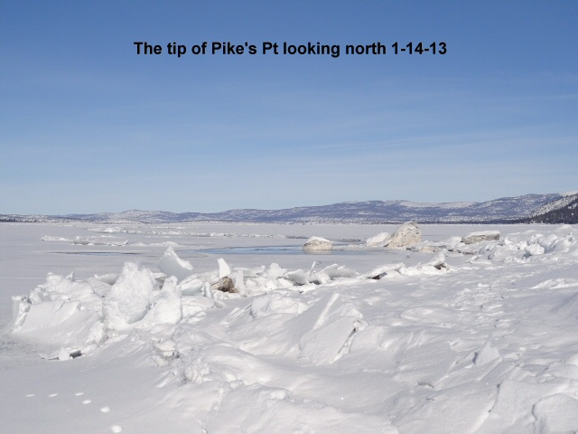 Looking north from Pike_s Pt 1-14-13