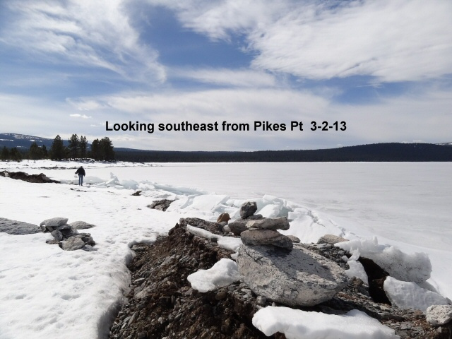 Looking southeast from Pikes Pt 3-2-13