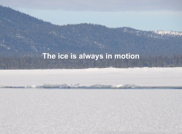 The ice sheets are always in motion 1-6-13