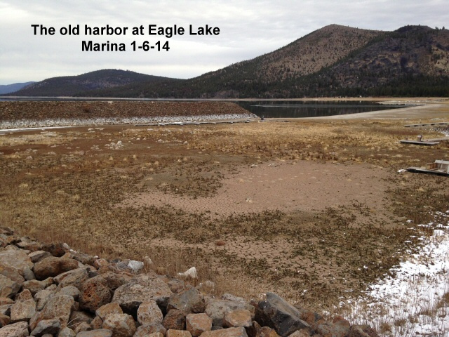 The old harbor at Eagle Lake Marina 1-6-14