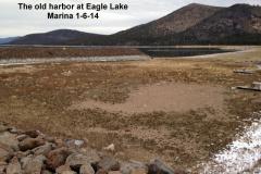 The old harbor at Eagle Lake Marina 1-6-14