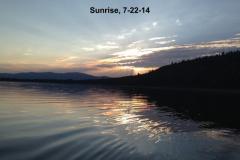 sunrise 7-22-14