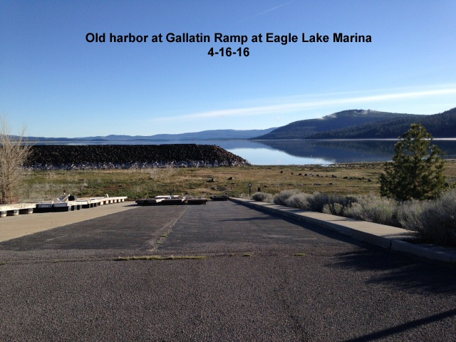 Old harbor at Gallatin ramp 4-16-16
