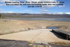 Stones Landing ramp 3-14-16