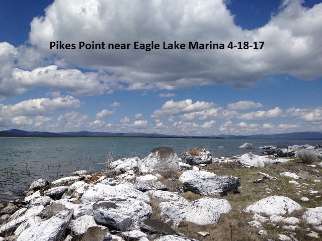 Pikes Pt near Eagle Lake Marina 4-18-17