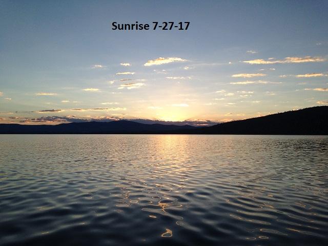 Sunrise 7-27-17
