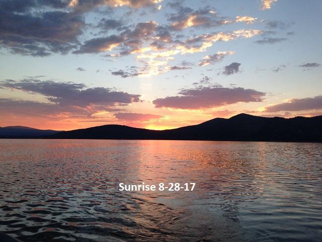 Sunrise 8-28-17