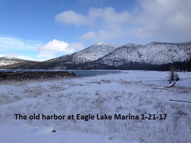 The old harbor at Eagle Lake Marina 1-21-17