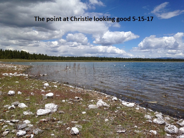 The point at Christie Looking good 5-15-17