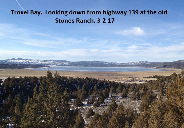 Troxel Bay and the old Stones Ranch 3-2-17