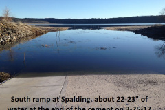 Spalding south ramp 3-25-16