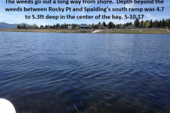 Spalding south ramp from the lake 5-10-17