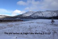 The old harbor at Eagle Lake Marina 1-21-17