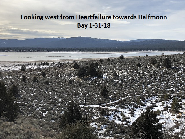1-31-18 Looking west from Heartfailure