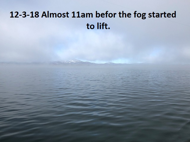12-3-18 and the fog begins to lift