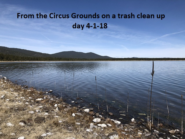4-1-18 Circus Grounds on trash clean up day
