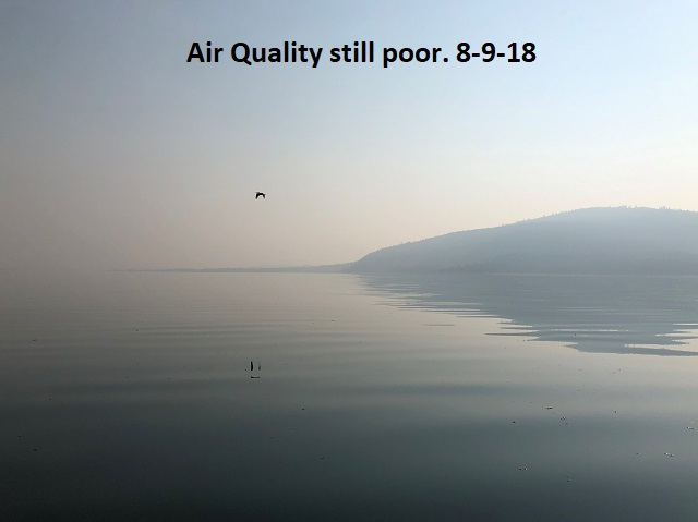 8-9-18 Air Quality still poor