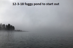12-3-18 foggy pond to start