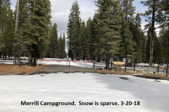3-20-18 Merrill Campground