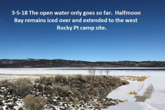 3-5-18 Ice remains in Halfmoon Bay