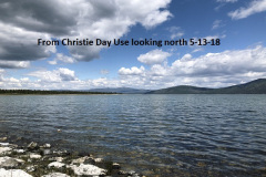 5-13-18 From Christie Day Use looking north