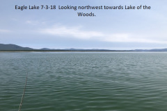 7-3-18 Eagle Lake looking northwest