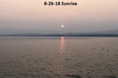 8-26-18 Sunrise