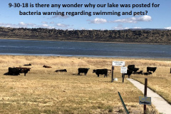 9-30-18 Spalding marina is now cow poop city ^