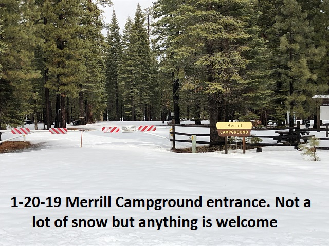 1-20-19 Merrill Campground entrance