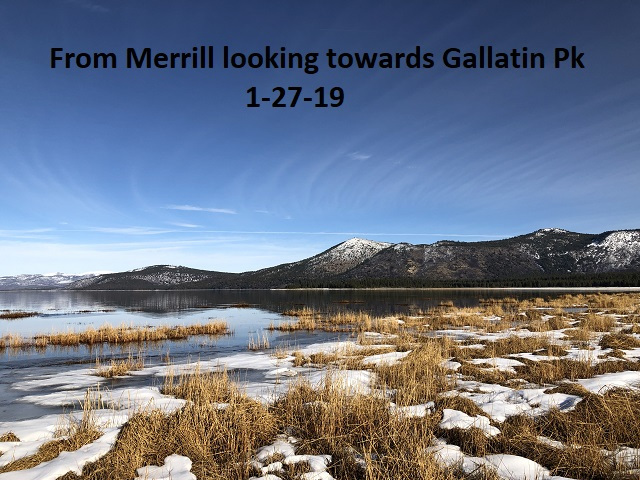 1-27-19 From Merrill looking towards Gallatin Peak