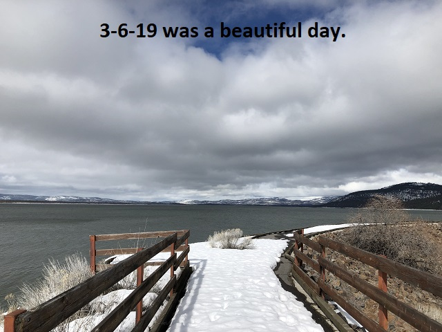 3-6-19 was a beautiful day