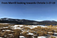 1-27-19 From Merrill looking towards Christie