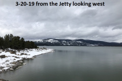 3-20-19 from the jetty looking west