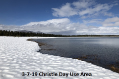3-7-19 Christie Day Use