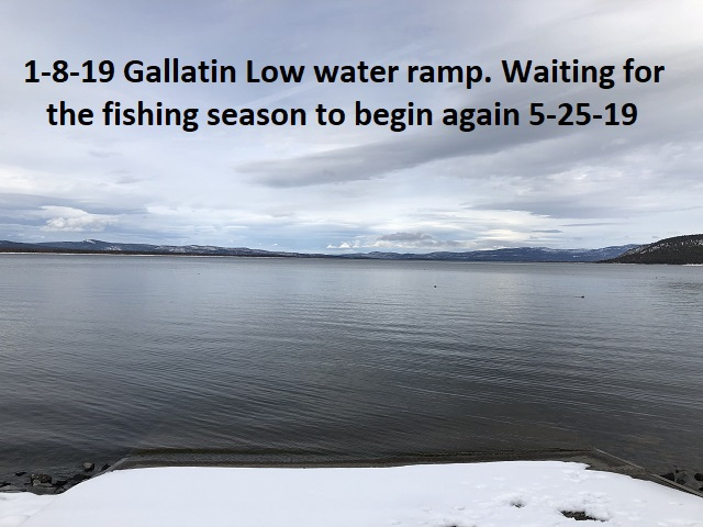 1-8-19 Low water ramp waiting for the next fishing season to begin