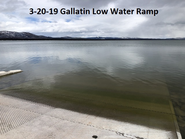3-20-19 Gallatin Low Water Ramp