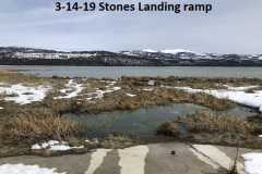 3-14-19 Stones Landing ramp